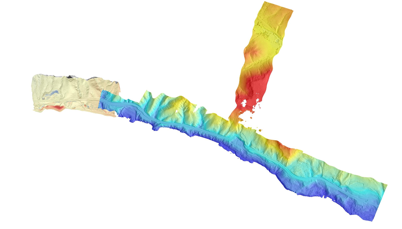 landslide topography