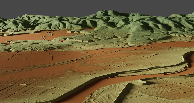 3D DEM View