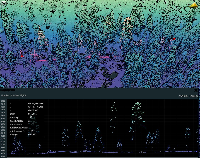 Forest Elevation Profile