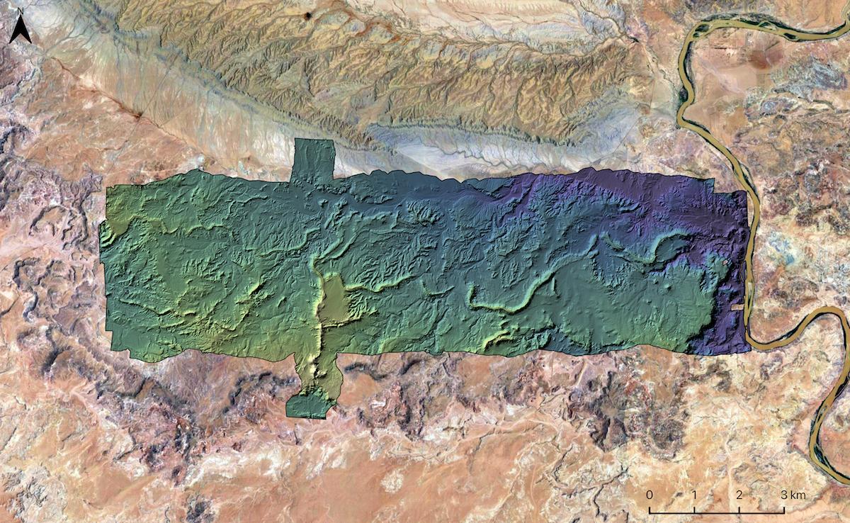 Channel-Belt Deposits in Utah